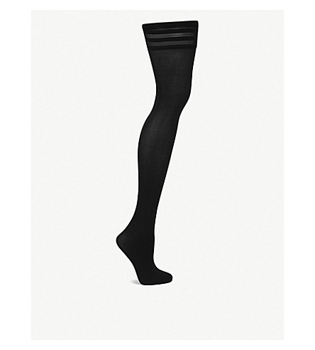 WOLFORD Velvet de luxe 50 hold-ups (Black