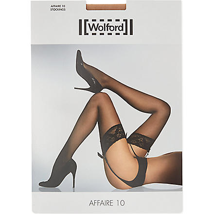 WOLFORD Affaire 10 stockings (Cosmetic