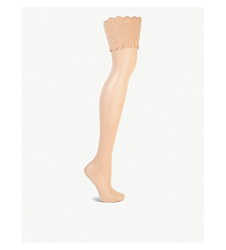 WOLFORD Satin touch hold-ups (Cosmetic