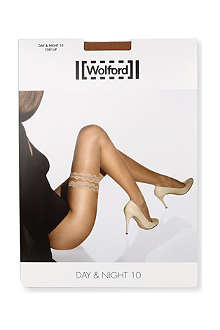 WOLFORD Day & Night 10 Stay-Up tights