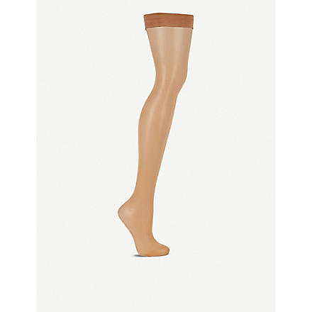 WOLFORD Ten denier hold-ups (Gobi