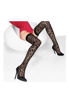 WOLFORD Cheetah stay-ups