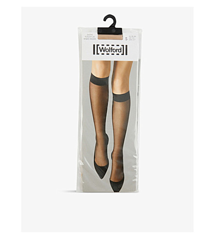 WOLFORD Satin Touch pop-socks (Cosmetic