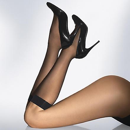 WOLFORD Knee high pop socks (Caramel