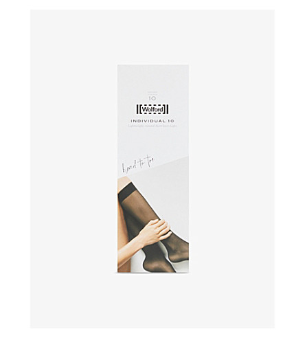 WOLFORD Individual 10 knee-highs (Gobi