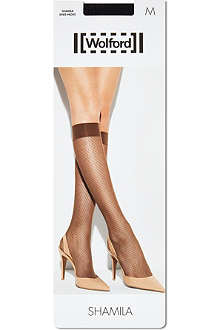WOLFORD Shamila knee highs