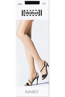 WOLFORD Sundot knee-highs