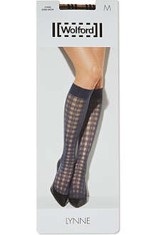 WOLFORD Lynne knee-highs