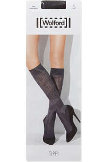 WOLFORD Tippi knee-high socks