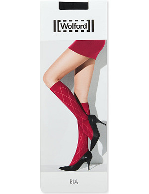 WOLFORD Ria knee-high tights