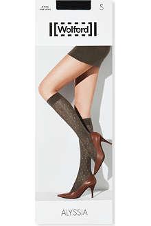 WOLFORD Alyssia knee-high socks