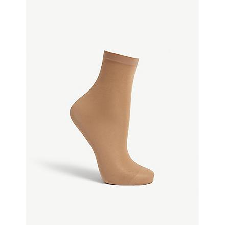 WOLFORD Satin touch 20 socks (Gobi