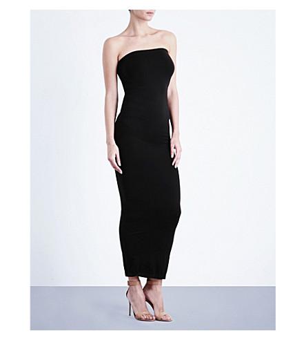 WOLFORD Fatal seamless stretch-jersey dress (Black