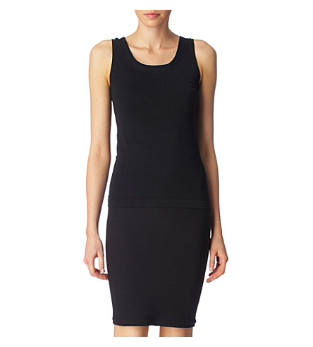 WOLFORD Athens vest (Black
