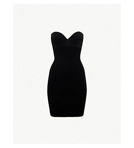 WOLFORD Opaque natural light-forming dress (Black