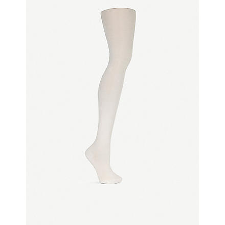 WOLFORD Merino wool tights (Ecrue