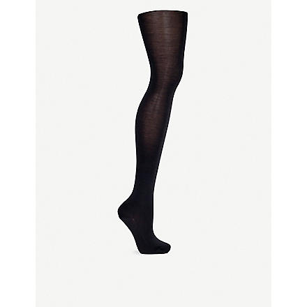 WOLFORD Merino wool tights (Anthracite