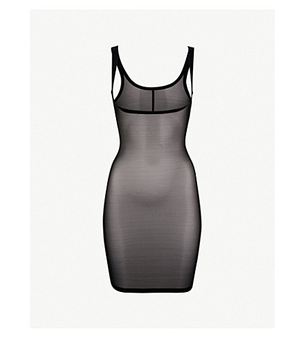 WOLFORD Tulle forming dress (Black