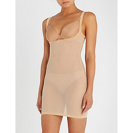 WOLFORD Tulle forming dress (Nude