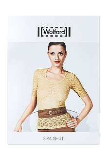 WOLFORD Sira short-sleeve top