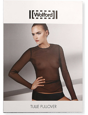WOLFORD Tulle pullover