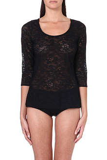 WOLFORD Zerafina lace pullover