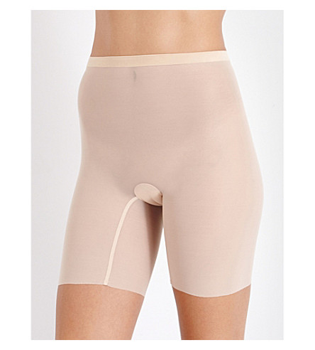 WOLFORD Tulle control shorts (Nude