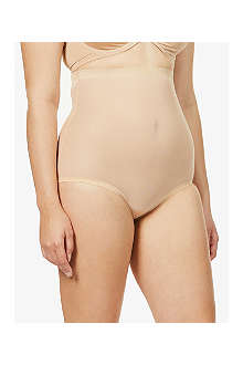 WOLFORD Tulle control high waist briefs