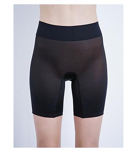 WOLFORD 纯粹的触摸控制短裤 (黑色