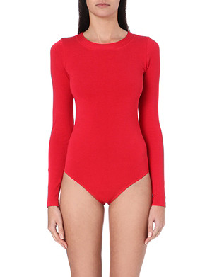 WOLFORD Cotton-blend jersey body