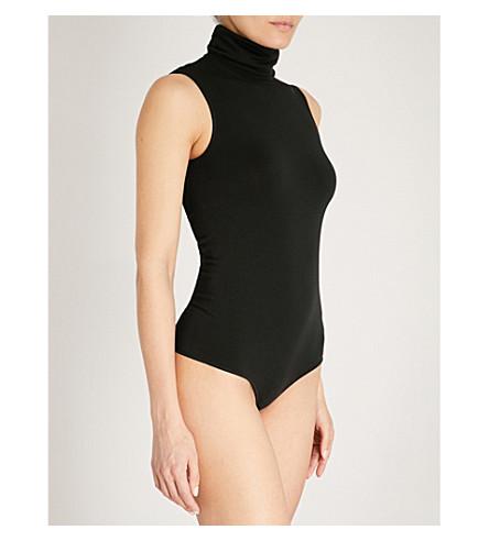 WOLFORD String stretch-jersey body (Black