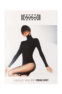 WOLFORD Merino ribbed body
