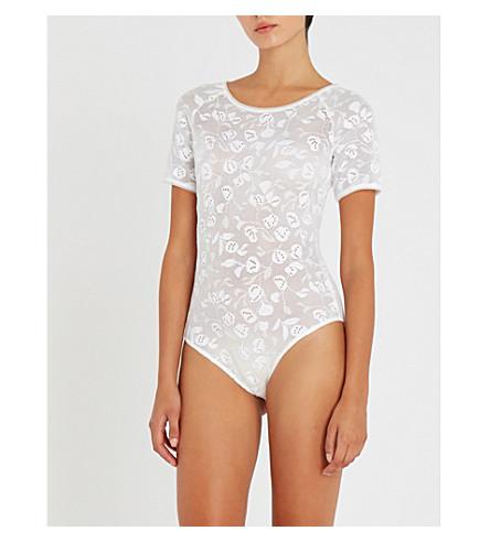WOLFORD Rachel lace body (White