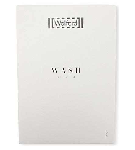 WOLFORD 拉链洗衣网袋 (白色
