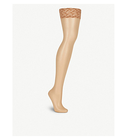 FALKE Shelina ultra-transparent hold-ups (4299+sun