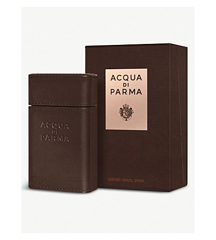 ACQUA DI PARMA Ingredient collection travel spray case