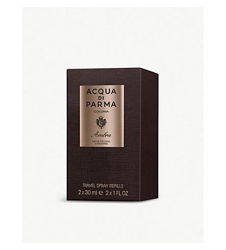 ACQUA DI PARMA Colonia ambra travel spray refill 2x30ml
