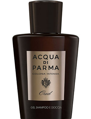 ACQUA DI PARMA Colonia Intensa Oud Eau de Cologne Concentrée Hair and Shower Gel 200ml