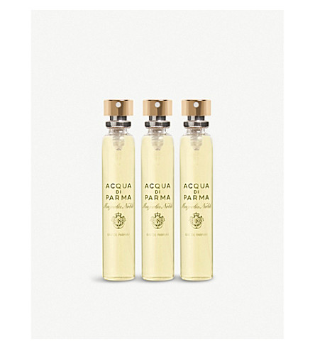 ACQUA DI PARMA Magnolia Nobile leather purse spray refill 3x20ml