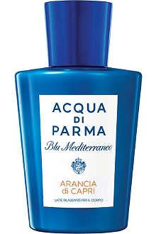 ACQUA DI PARMA Blu Mediterraneo Arancia di Capri relaxing body milk 200ml