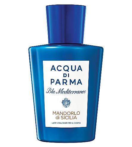 ACQUA DI PARMA Blu Mediterraneo Mandorlo di Sicilia pampering body milk 200ml