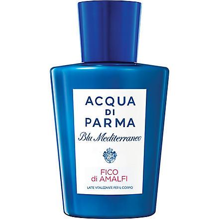 ACQUA DI PARMA Blu Mediterraneo Fico di Amalfi vitalising body milk 200ml
