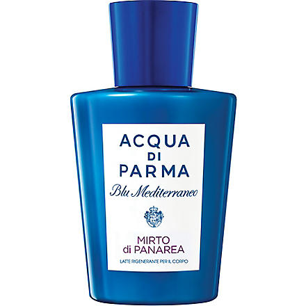 ACQUA DI PARMA Blu Mediterraneo Mirto di Panarea regenerating body milk 200ml
