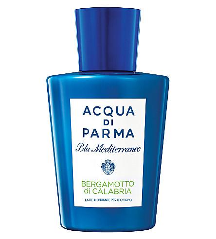 ACQUA DI PARMA Blu Mediterraneo Bergamotto di Calabria exhilarating body milk 200ml
