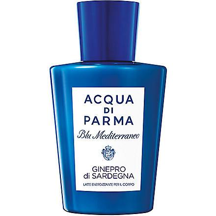 ACQUA DI PARMA Blu Mediterraneo Ginepro di Sardegna body lotion 200ml