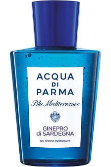 ACQUA DI PARMA Blu Mediterraneo Ginepro di Sardegna shower gel 200ml