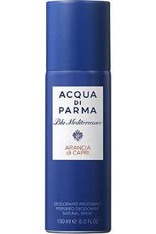ACQUA DI PARMA Blu Mediterraneo Arancia di Capri deodorant spray 150ml