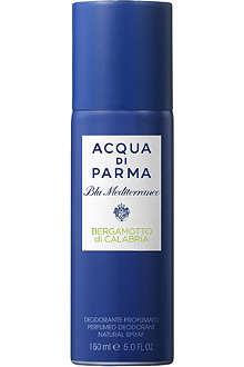 ACQUA DI PARMA Blu Mediterraneo Bergamotto di Calabria deodorant spray 150ml