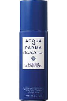 ACQUA DI PARMA Blu Mediterraneo Ginepro di Sardegna deodorant spray 150ml