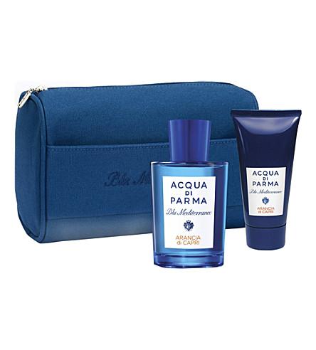 ACQUA DI PARMA Blu Mediterraneo Arancia di Capri 150ml gift set